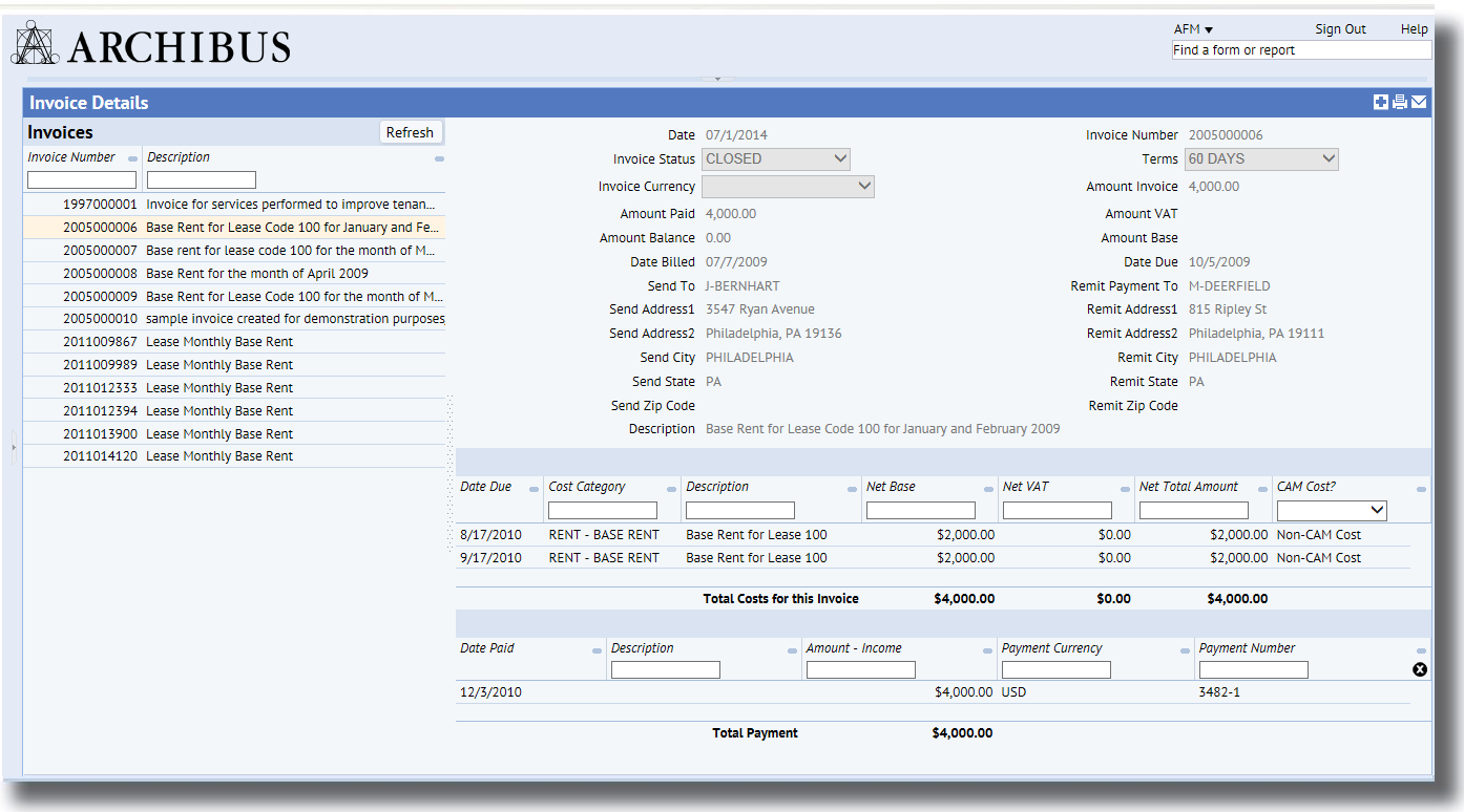 Cost Chargeback and Inventory